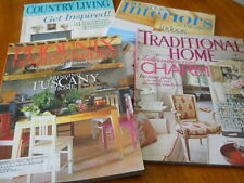 4--Back Issues Decorative Home MagazinesX