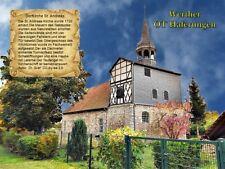 Werther OT Haferungen  Dorfkirche St. Andreas Thüringen 202