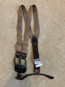 Mens Wearhouse Silk Suspenders