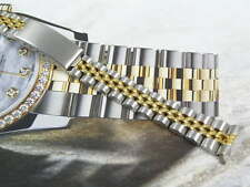 SUPERB STAINLESS STEEL JUBILEE WATCH BRACELET STRAP 4 ROLEX LADIES DATEJUST 13MM