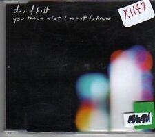 (CJ873) David Kitt, You Know What I Want To Know - 2001 CD