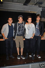 Big Time Rush Candid Photo 10 James Maslow Kendall Schmidt Carlos Pena Jr. Logan