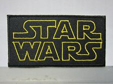 Star Wars Logo embroidered Iron on Patch High Quality Shirt Bag Cap