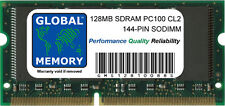 128MB PC100 100MHz 144-PIN Sdram SODIMM Memoria RAM Para Portátiles