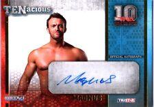 TNA Magnus 2012 TENacious GOLD Authentic Autograph Card SN 74 of 100