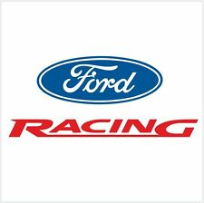 "4pcs FORD RACING LOGO SET DECAL STICKER M1 8"" - 20cm"