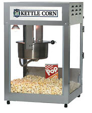 Kettle Corn Commercial Popcorn Machine Gold medal 16/18oz 2554KC