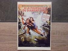 Carte Postale Film Affiche Cinéma - A LA POURSUITE DU DIAMANT VERT