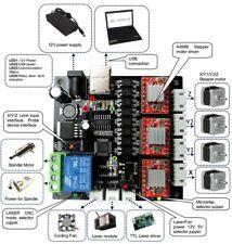 Tarjeta Controladora Cnc Con Láser USB 3 Ejes Controlador de controlador de motor paso a paso