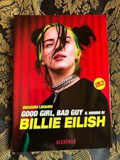 LIBRO ALCATRAZ Ed. GOOD GIRL; BAD GUY Il Mondo di BILLIE EILISH superb book