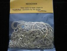 "120 GOLD PLATED 16""-24"" NECK CHAINS  - Assorted lengths"