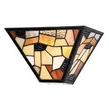 Tiffany Wandlampen, Wandleuchten, Wall Lamps Fallingwater - Art Deco Trade