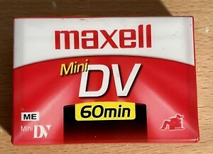 Maxell Mini DV 60 Minutes, Digital Video Cassette Sealed New
