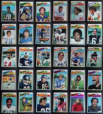 1977 Topps Football Cards Complete Your Set You U Pick From List 401-528