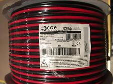 fil double 2X2,5mm² rouge/noir câble souple haut-parleur lampes coupe de 1a100M