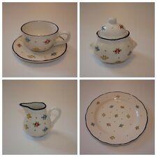 Vintage Zeller Keramik Eden Mid Century Modern Tea Teapot Retro Kitsch Mugs Lot Retro Mid Century Retro Kitsch