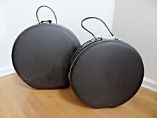 LOT OF 2 VINTAGE 60s AMERICAN TOURISTER Tri-Taper HARD SIDE - 20 inch & 17 inch