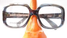 Brillen Vintage Gestell Opabrille kastig große Gläser Marke Silhouette grau Gr L