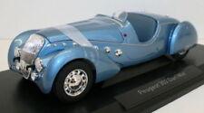 Voitures, camions et fourgons miniatures bleus Roadster Peugeot