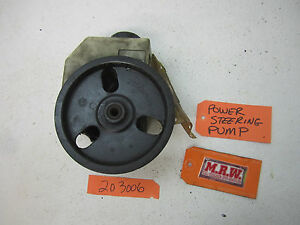 97 98 99 SATURN S SERIES POWER STEERING PUMP PULLEY SOHC ENGINE 96 USED GM PART