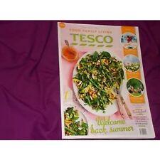 Tesco Food family Living May 2015 magazine recipes
