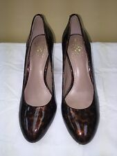 Vince Camuto brown Leather High-Heeled Classic Pumps Size 6.5B pre-owned
