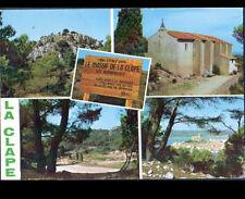 LA CLAPE prés GRUISSAN (11) CHAPELLE des AUZILS & VILLAGE en 1988