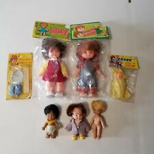 Vintage TOY DOLLS Hong Kong NEW OLD STOCK & PRE OWNED COUNTRY COUSINS NANCY ETC