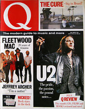 Q 10 1987 Fleetwood Mac Cure U2 Beatles Jeffrey Archer Morgan Khan Tracey Ullman