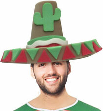 Jumbo Mexican Sombrero Foam Hat Adult Halloween Party Costume Accessory Trend
