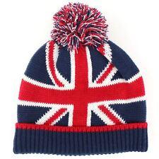 aac619b7ed4e65 Beanie Hat Cap Winter Warm Childrens Flag Union Jack Stars Stripes