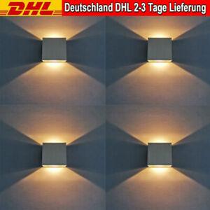 6W LED Wandleuchte Wandlampe Strahler Licht Up Down für Innen Warmweiß HOT DHL