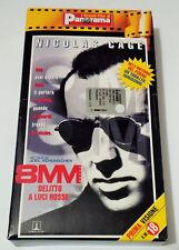 VHS FILM 8MM DELITTO A LUCI ROSSE CON NICOLAS CAGE USATO GARANTITO