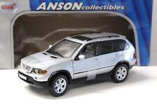 1:18 Anson BMW X5 E53 silver 4.4i NEW bei PREMIUM-MODELCARS