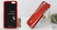 """Genuine Goospery Metallic Red Soft Jelly Case Cover for iPhone 6/6s PLUS (5.5"""")"""