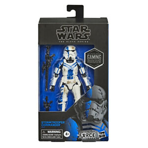 "Star Wars Black Series 6"" Action Figure Gaming Greats - Stormtrooper Commander"