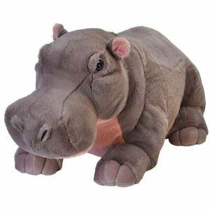 "Hippo Extra Large Jumbo Stuffed Animal 25""/65cm soft plush toy Wild Republic NEW"