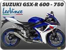 TERMINALE DI SCARICO LEOVINCE GP-STYLE INOX SUZUKI GSX-R 600 / GSX-R 750 06 > 07