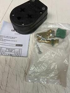 Leviton R55-00275-00E 30-50A 125-250V 4-Wire 3-Pole Dual Range&Dryer Power Plug
