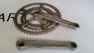 Retro crankset NERVAR STAR B.S.A 170mm <54 40>645g vintage road bicycle