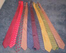 Hermes Vintage Ties -- Lot of Ten!!!
