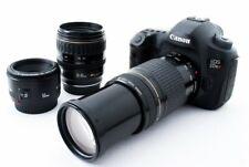 Canon EOS 5DSR 50.6MP 28-80/75-200/50mm Lens Set [Exc w/8GB SD,Strap [46]