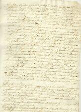 Manoscritto Storia Stuart Enrichetta Maria di Francia Carlo I Inghilterra 1670