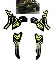 Polaris ACE EPS XC 500 150 570 900 GRAPHIC DECALS WRAP atv SIDE LIME GREEN