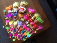 Huge lot of 41 assorted Treasure Trolls. Awesome Lot! Some Rare Ones!