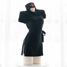 Women Adult Uniform Dress  Nurse Doctor Costume Cosplay Outfit Lingerie Party