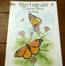 Butterflies Coloring Book by Jan Sovak (Paperback, 1992)