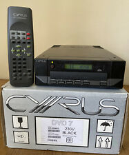 Cyrus DVD7 CD / DVD Player + Remote - Boxed