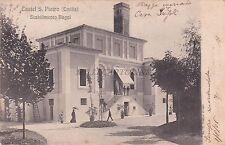 CASTEL S. PIETRO DELL'EMILIA - Lo Stabilimento Bagni 1906