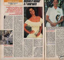 Coupure de presse Clipping 1990 Sela Ward &  Richard Dean Anderson  (1 page 1/2)